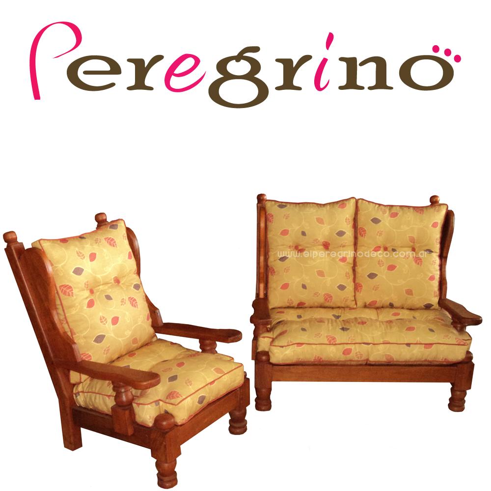 El peregrino decoraci n - Cojines para sillones de jardin ...